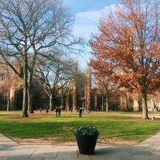 yale ol' campus